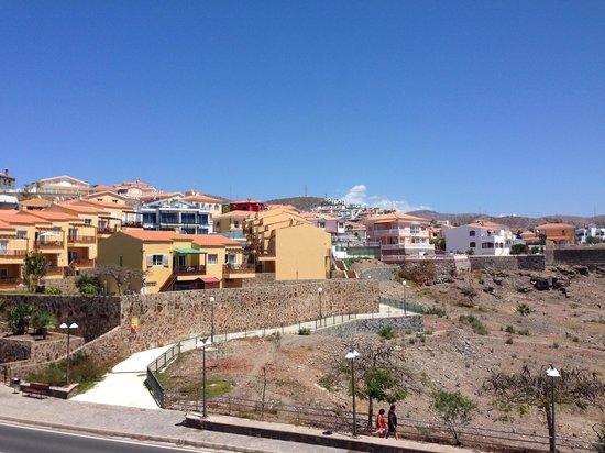 Hotel Dorado Beach & Spa : Tegenover hotel