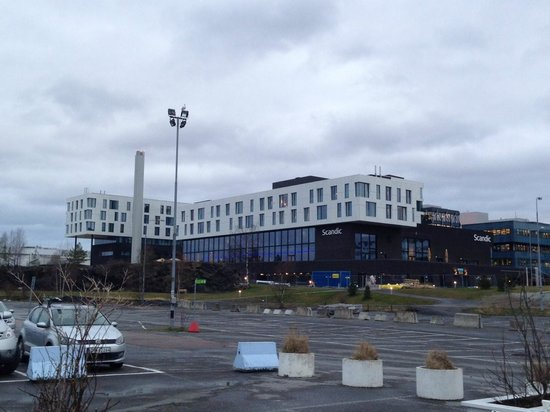 Scandic Fornebu - view from the sea