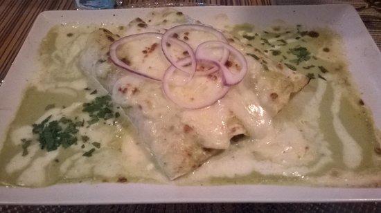 Oyamel : Enchiladas de ternera 14.5 €