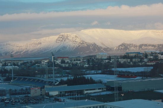 Reykjavik Lights by Keahotels: The view from our room