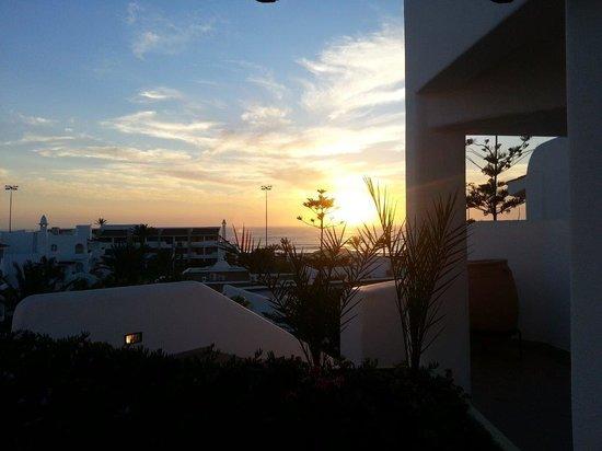 ClubHotel Riu Tikida Dunas: Coucher de soleil