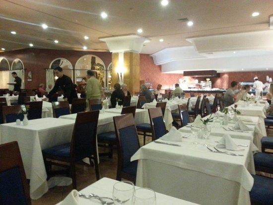 ClubHotel Riu Tikida Dunas: Vue partielle du restaurant principal
