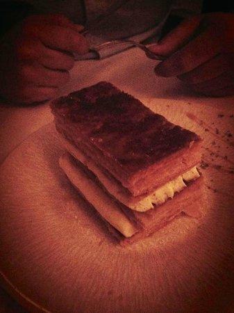 Brasserie Thoumieux : mille feuille aérien