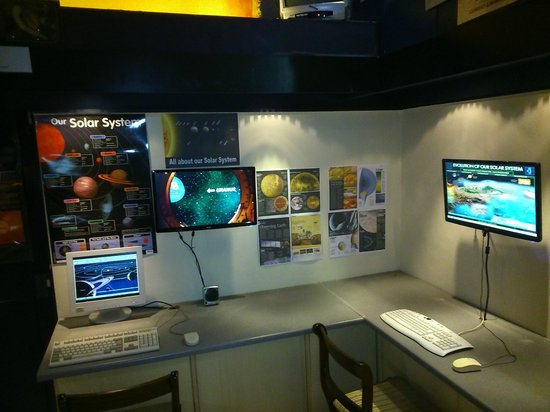 Island Planetarium: New Displays in the Exhibition Area