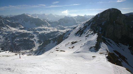 Obertauern Ski Resort: Blick von Gamsleiten 2