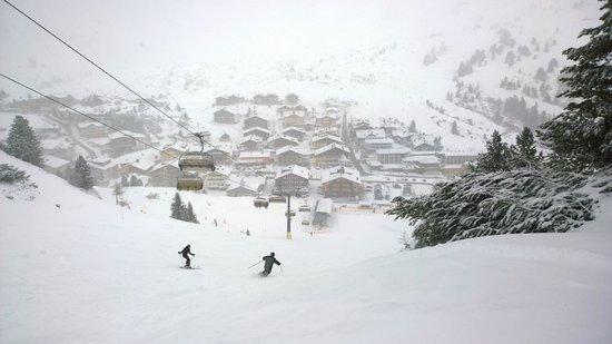 Obertauern Ski Resort: Schnee im April