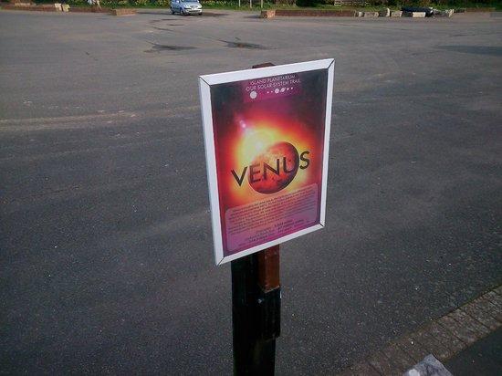 Island Planetarium: Solar System Walk - Venus Board