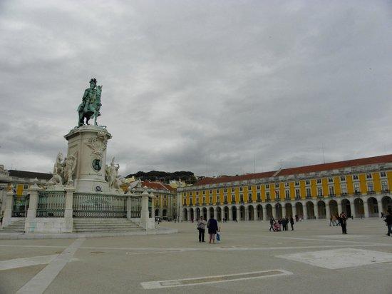Praça do Comércio (Terreiro do Paço) : piazza del commercio