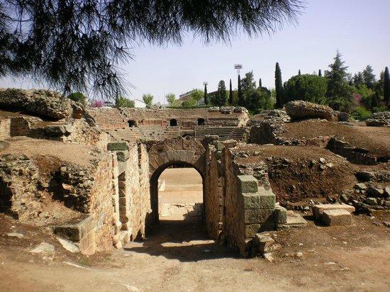 Roman Theater (Teatro Romano): One of the entrances