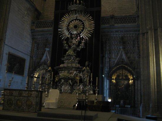 Catedral de Sevilla: interno della cattedrale