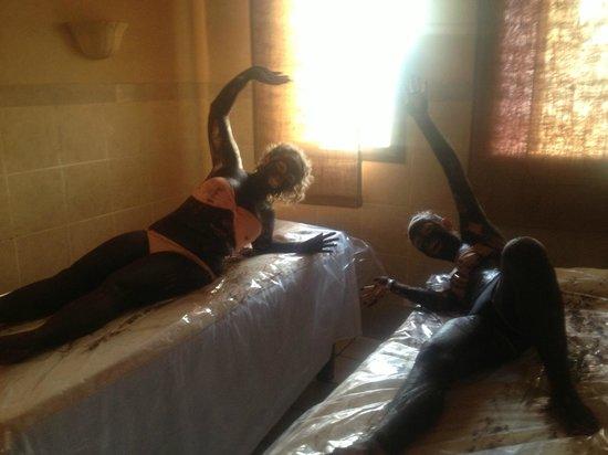 Jaz Mirabel Beach: Our chocolate massage