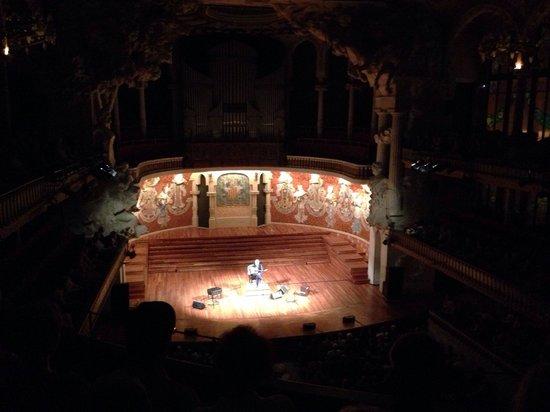 Palais de la Musique Catalane (Palau de la Musica Catalana) : Spettacolo chitarra flamenca