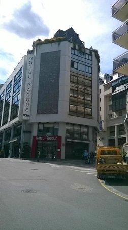 Hotel Padoue: Esterno