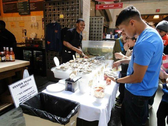 Ferry Building Marketplace : Fresh Seafood @ Ferry Building