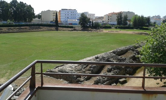 Circo romano: From the viewing deck looking right