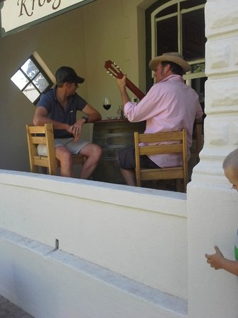 Proviant: The guitarist