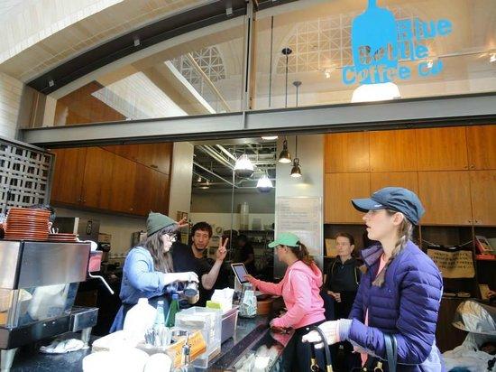 Ferry Building Marketplace: Blue Bottle Coffee @ Ferry Building
