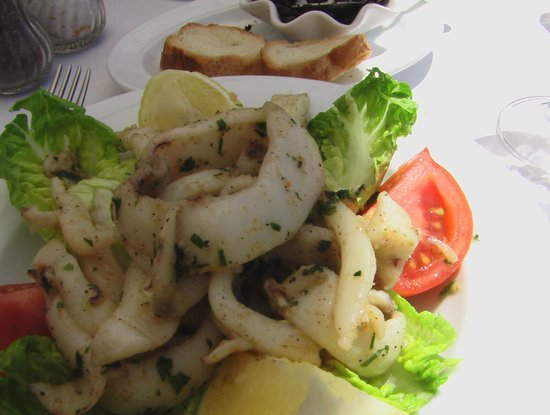 Mimi La Brochette : Calamars provençale