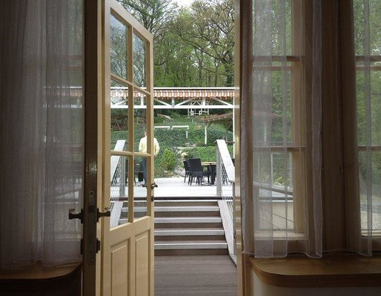 Hotel Santander : From our bedroom to the terrace and garden