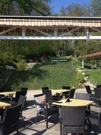 Hotel Santander : Garden on several levels