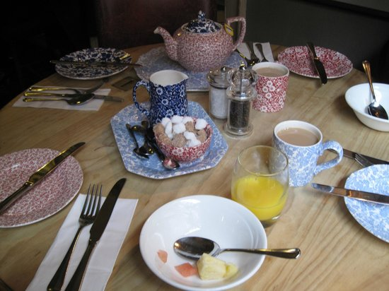 The Wykeham Arms: Breakfast