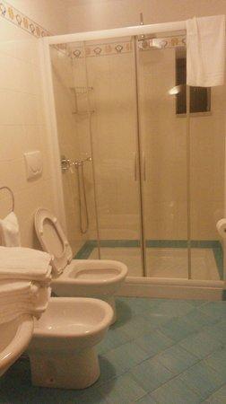 Residence Alcione: Già la doccia parla da sé