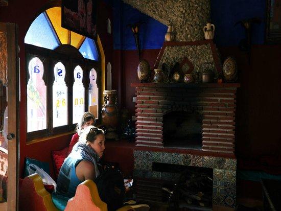 Casa Annasr: Sallon de thé