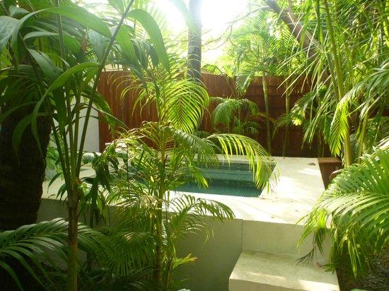 The Pavilion: Jacuzzi garden room