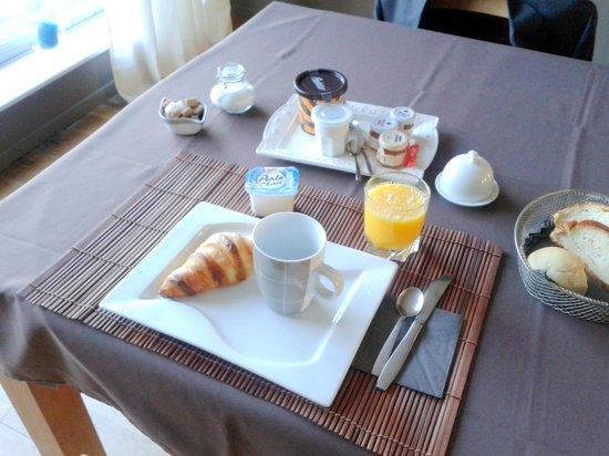 La Parenthèse: Desayuno