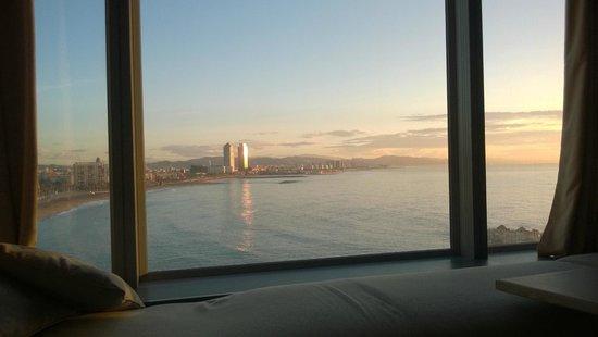 W Barcelona: Vue sur la ville