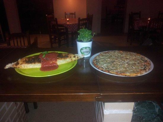 Pizzaiolo Rocks: Clazone y carbonara Big Iolo