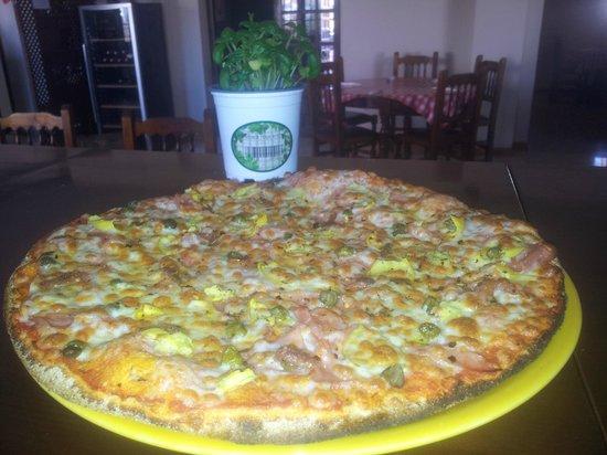 Pizzaiolo Rocks: Masa Big Iolo. Masa gruesa con diferente textura.