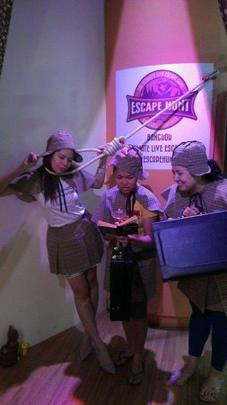 The Escape Hunt Experience Bangkok: Having fun at Escape Hunt Bangkok