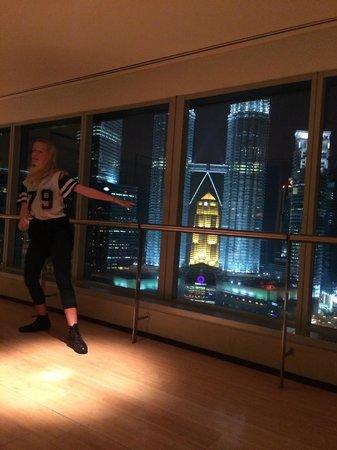 Traders Hotel, Kuala Lumpur : dance studio