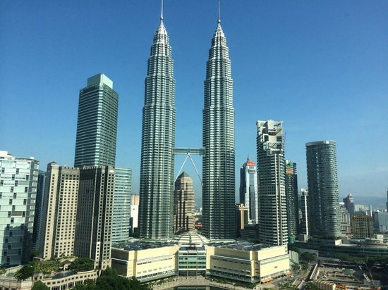 Traders Hotel, Kuala Lumpur : view from our room