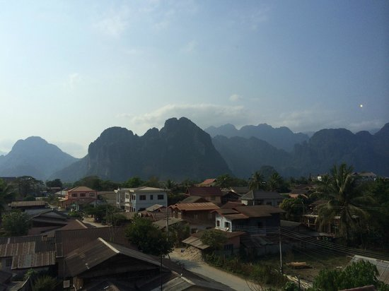 Laos Haven Hotel: View from Room