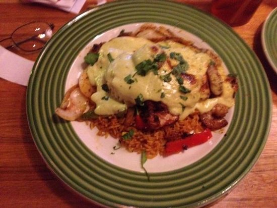 Applebee's: Jalapino lime shrimp