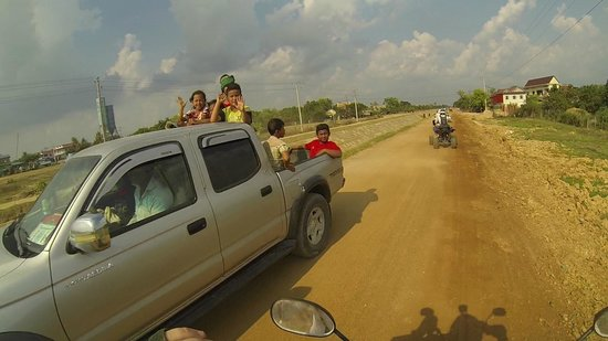 Blazing Trails: Cambodian Drive By