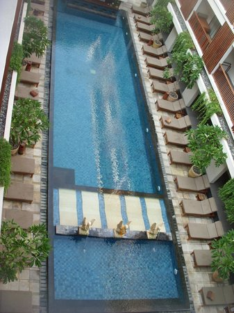 The Magani Hotel and Spa : pool from room