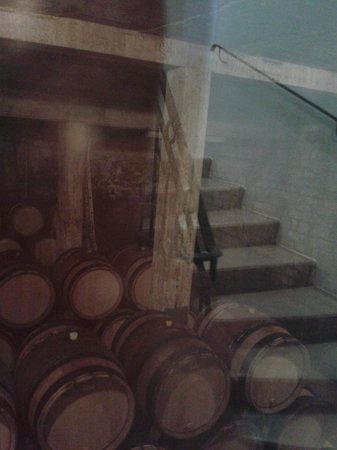 Wine and Voyages: in the cellar