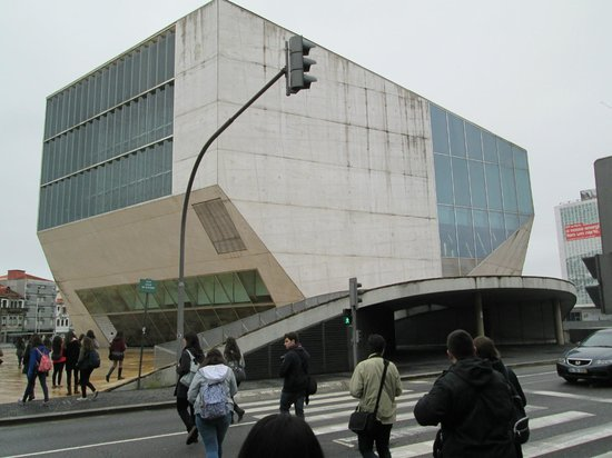 Exterior de la Casa da Musica