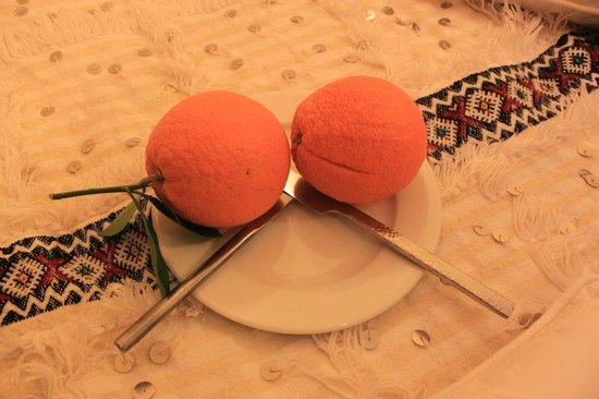 Riad Zayane Atlas : coupe 2 fruits