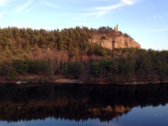 Sunset at Mohonk mountain house