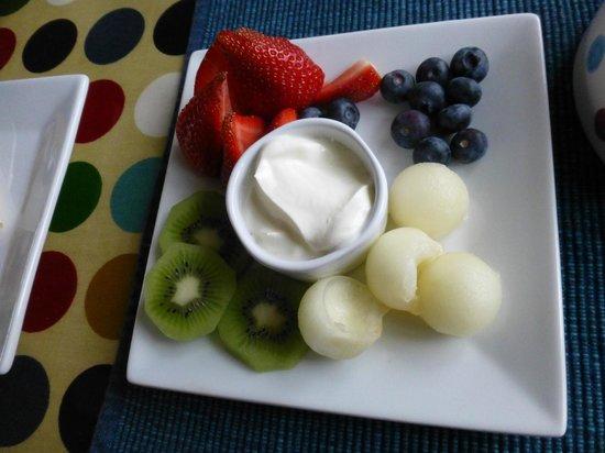 Caw Cottage B&B: Breakfast starts here