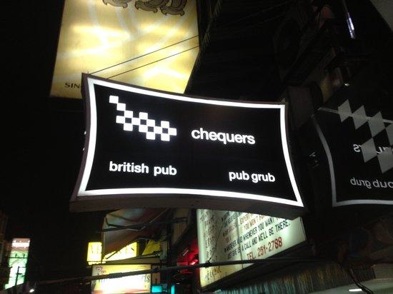 Chequers British Pub: No British beer on tap here