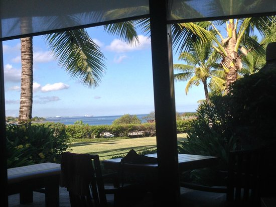 The Oberoi, Mauritius: View from hotel room