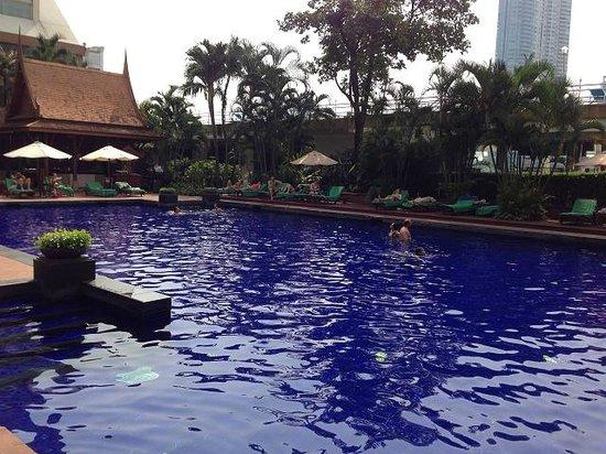Ramada Plaza Bangkok Menam Riverside : 浅いです