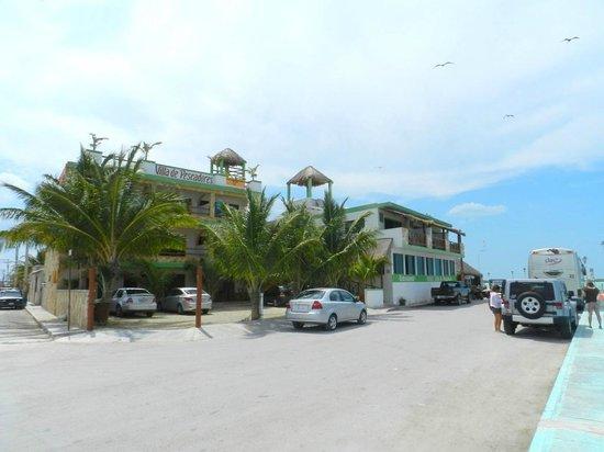 Hotel Villa de Pescadores: Frontansicht