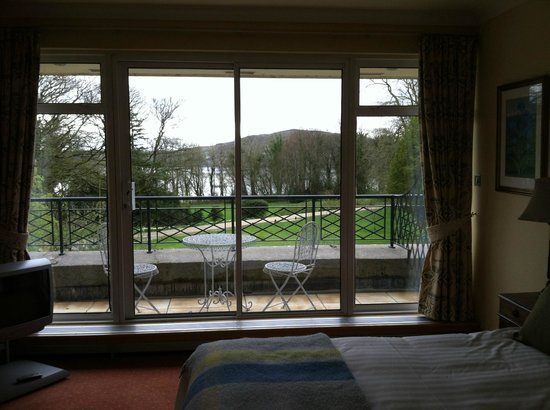 Rathmullan House: balcony view