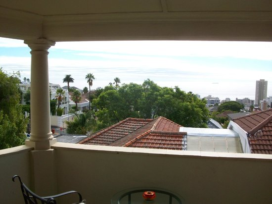 Maartens Guesthouse: View from Deluxe Room balcony